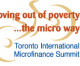 "How are urban projects and ""revolving money"" turning youth and female micro-entrepreneurs into job creators? Find out at Toronto International Microfinance Summit, Oct 4"